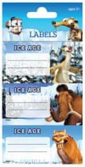 Disney etiketa za zvezek Ice Age 9/1