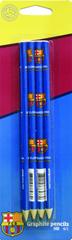 FC Barcelona grafitni svinčnik, 4/1, blister