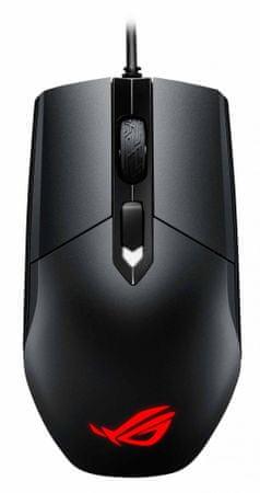 Znalezione obrazy dla zapytania: Mysz Asus ROG Strix Impact