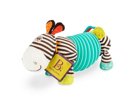 B.toys Squeezy Zeeby zebra harmonika