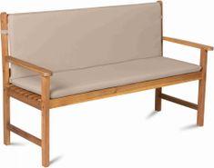 Fieldmann poduszka na ławkę 3-osobową FDZN 9009, kremowa