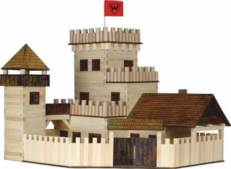WALACHIA Fa építőkészlet, Királyi vár