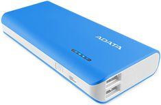 A-Data Powerbank PT100 10000 mAh, niebieski/biały