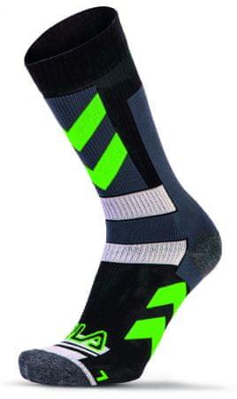 FILA nogavice Skating Socks, zelene, 35 - 38