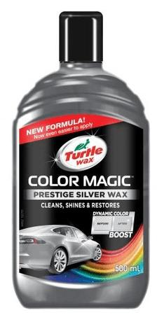 Turtle Wax polirna tekočina Color Magic Prestige Wax, srebrna