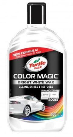 Turtle Wax polirna tekočina Color Magic Bright Wax, bela