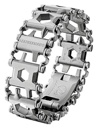 LEATHERMAN Tread Metric večnamensko orodje/zapestnica, srebrna
