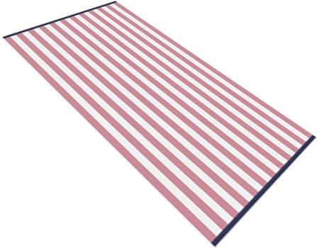 Carbotex ręcznik plażowy Splash czerwony 90x170 cm