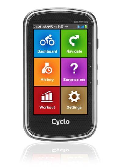 """MIO Cyclo 405 - 4"""" cyklonavigace"""