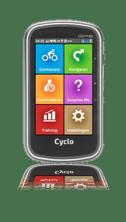 """MIO Cyclo 605HC - 4"""" kerékpáros navigáció"""
