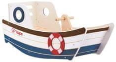 Hape drewniana łódź na biegunach