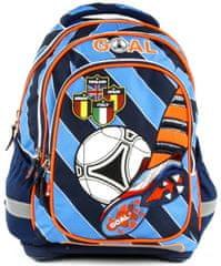 Target Školský batoh Goal modré prúžky