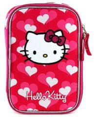 Target Hello Kitty szívek iskolai tolltartó