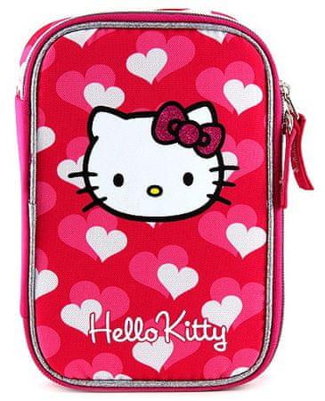 Target Hello Kitty šolska peresnica, srčki