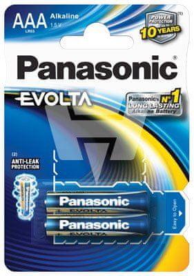 Panasonic baterija EVOLTA LR03EGE/2BP, 2 kosa