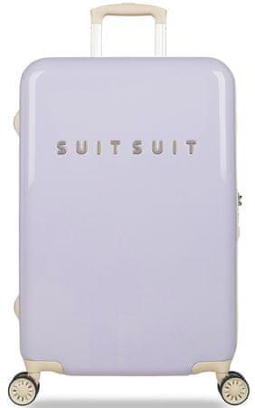 """SuitSuit Cestovný kufor Fabulous Fifties """"M"""" Paisley Purple"""