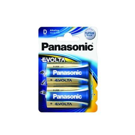 Panasonic baterija Evolta LR20EGE/2BP, 2 kosa