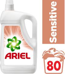 Ariel Sensitive tekutý prací prostriedok 4,4 l (80 praní)