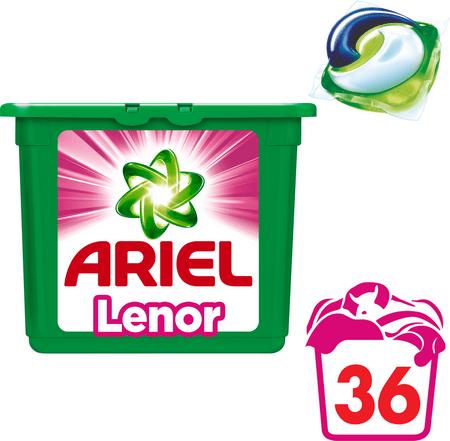 Ariel gel kapsule Touch of Lenor 3v1, 36 kosov