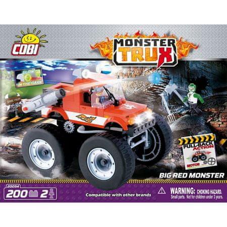 Cobi kocke za sestavljanje Big Red Monster