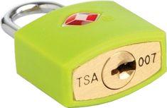 REAbags ključavnica, modra, TSA odobrena
