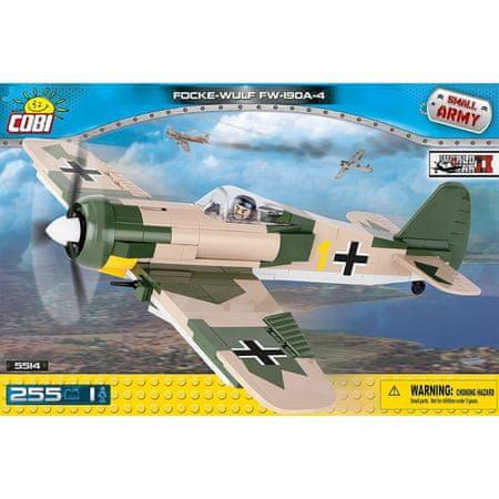 Cobi kocke za sestavljanje Focke-Wulf FW 190 A-4