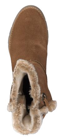 cfea4435ff09da s.Oliver buty zimowe damskie 37 brązowy | MALL.PL