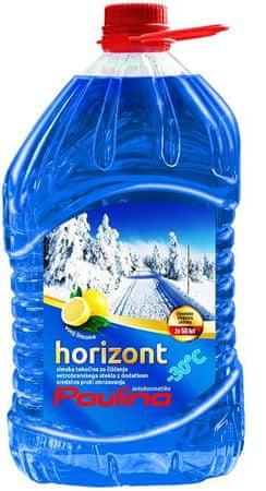 Paulina zimska tekočina za vetrobransko steklo Horizont, 3L PET, limona, -30°C
