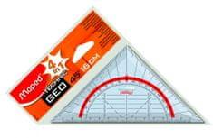 Maped geo trokut, 16 cm, etui