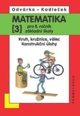 Odvárko Oldřich, Kadleček Jiří: Matematika pro 8. roč. ZŠ - 3.díl Kruh, kružnice, válec; konstrukční