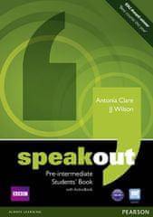 Clare Antonia: Speakout Pre-Intermediate Students´ Book w/ DVD/Active Book Multi-Rom Pack
