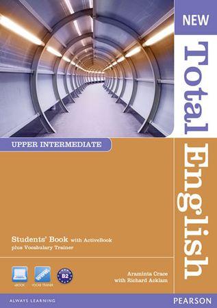 Crace Araminta: New Total English Upper Intermediate Students´ Book w/ Active Book Pack