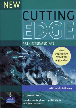 Cunningham Sarah: New Cutting Edge Pre-Intermediate Students´ Book w/ CD-ROM Pack