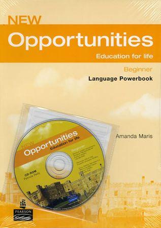 Maris Amanda: Opportunities Global Beginner Language Powerbook Pack