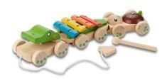 EverEarth leseni glasbeni krokodilček