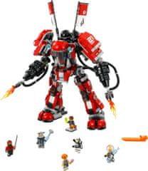 LEGO NINJAGO 70615 Ognjeni robot - Odprta embalaža