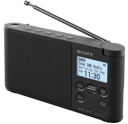 SONY XDRS41D Hordozható rádió, fekete
