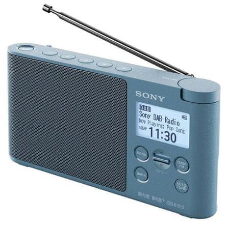 Sony XDR-S41DL, modrá - rozbaleno