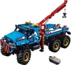 LEGO TECHNIC 42070 Terepjáró vontatóautó 6x6