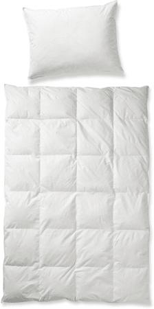 bed & fun´tastisch Set přikrývky a jednokomorového polštáře z prachového peří