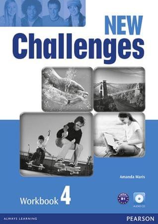 Maris Amanda: New Challenges 4 Workbook w/ Audio CD Pack