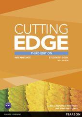 Cunningham Sarah: Cutting Edge 3rd Edition Intermediate Students´ Book w/ DVD Pack