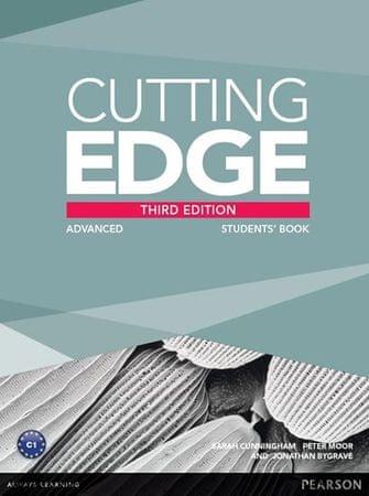 Cunningham Sarah: Cutting Edge 3rd Edition Advanced Students´ Book w/ DVD Pack