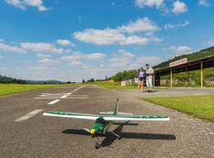 Allegria pilotování RC letadel