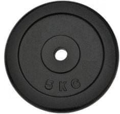 Spartan uteg od lijevanog željeza, 2 x 5 kg