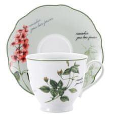 Pierre Cardin Brunchfield Sada porcelánových hrnčekov na čaj 4ks Remember