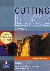 Cunningham Sarah: Cutting Edge Advanced Students´ Book w/ CD-ROM Pack