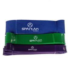Spartan elastika za vadbo, zelena, 4,45 cm