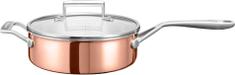 KitchenAid duboka bakrena tava s poklopcem, 24 cm
