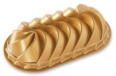 NordicWare Forma na chlebík, Heritage, zlatá